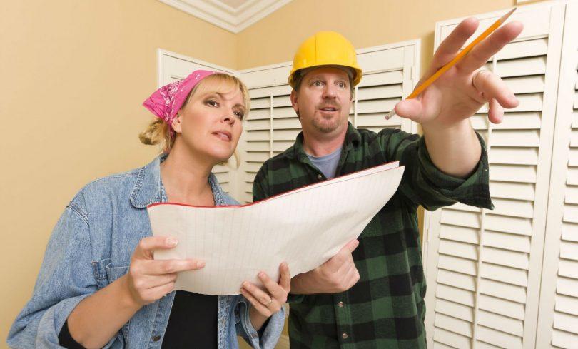 hire home improvement contractor