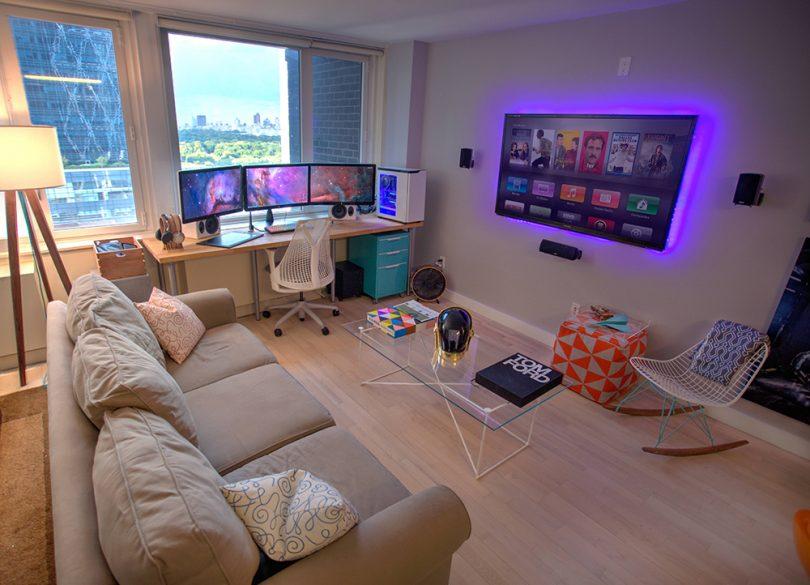 Modern game room design